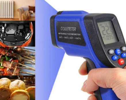 Coleman non-contact digital infrared thermometer