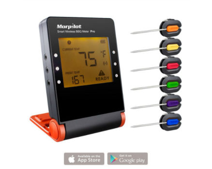 Morpilot Pro wireless Cooking Thermometer Review