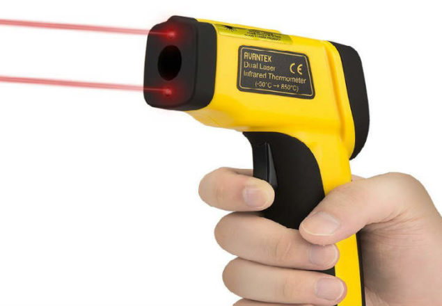 AVANTEK Dual Laser Infrared Thermometer review