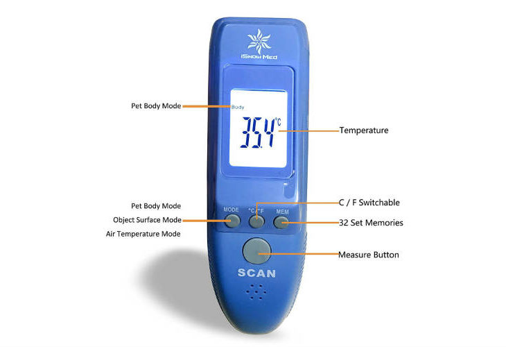 iSnow's No Contact Pet Thermometer Is Perfect For Your Beloved House-Mate