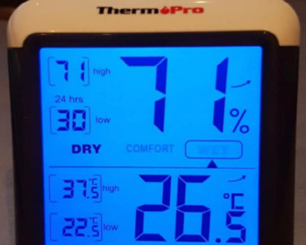 ThermoPro TP55 digital indoor outdoor thermometer / hygrometer review