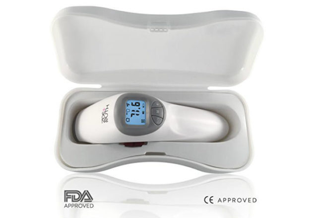 Zoe+Ruth non-contact forehead infrared thermometer review